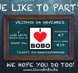 20171124 I Love BOBO Local